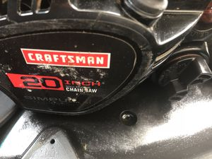 "Craftsman 50cc 20"" bar for Sale in Missoula, MT"