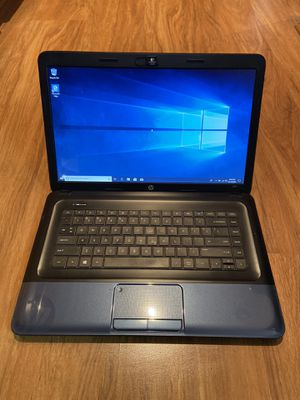 HP 2000 4GB Ram 160GB Hard Drive 15.6 inch HD Windows 10 Pro Laptop with HDMI output & charger in Excellent Working condition!!!!!!!! for Sale in Aurora, IL