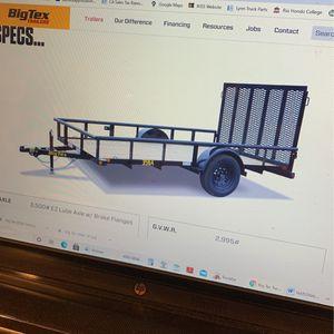 "Big Tex Trailer 14'x77"" for Sale in Whittier, CA"
