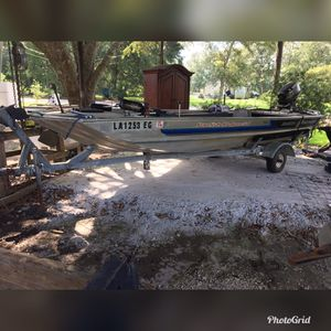 Bass tracker boat for Sale in Hayes, LA