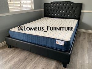 QUEEN BEDS W ORTHOPEDIC MATTRESS INCLUDED for Sale in Temecula, CA