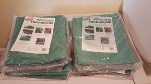 6 - 5'x7' reversible tarps for Sale in San Francisco, CA