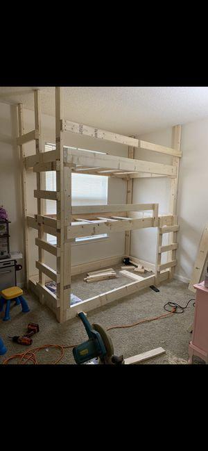 Triple bunk bed for Sale in La Vergne, TN