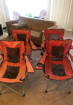 4 Fold Out Camp Chairs for Sale in Washington, DC