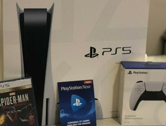 NEW Sony PS5 Playstation 5 Disc + Spiderman Ultimate for Sale in Newport News,  VA