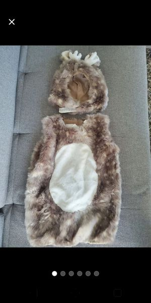 New without tags Pottery barn kids woodland deer costume size 7-8yrs for Sale in Lynnwood, WA