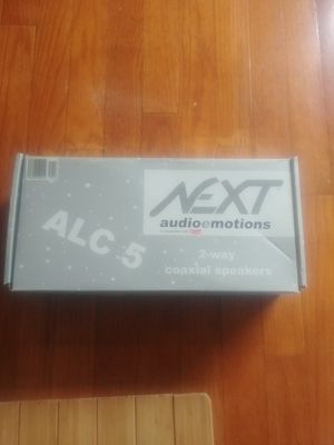 Audio E motions 13cm coaxial speaker system for Sale in Phoenix, IL