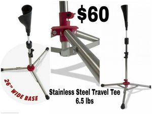 Stainless Steel Heavy Batting Tee for Sale in Reedley, CA