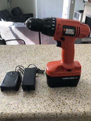 Black & Decker 24V Power Drill for Sale in Sacramento, CA