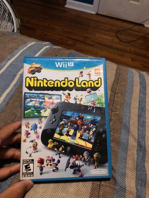WII U : Nintendo Land for Sale in Hyattsville, MD