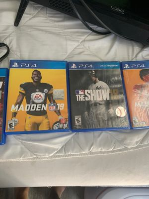 Madden 19 And The Show 18 Only Selling It For 60 for Sale in Pasco, WA