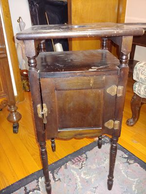 Antique pipe stand/cigar humidor for Sale in Palatine, IL