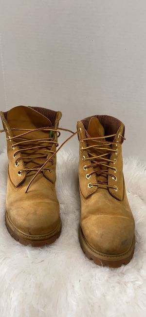 Timberland men work boots size 7 for Sale in Dearborn, MI