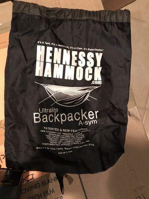 Hennessy Hammock Ultralite Backpacker for Sale in McLean, VA