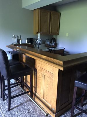 Solid Wood Bar for Sale in Chesterfield, MO