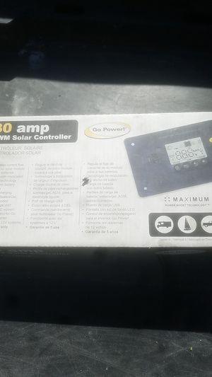 30 amp pwm solar controller for Sale in Phoenix, AZ