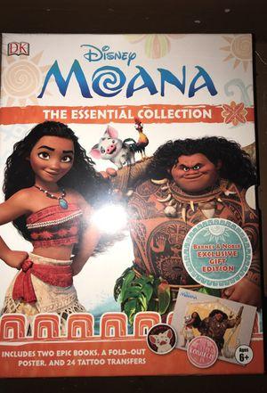 Disney Moana Book Set for Sale in Minneapolis, MN