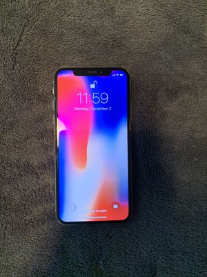 Sprint iPhone X 256 GB for Sale in Philadelphia, PA