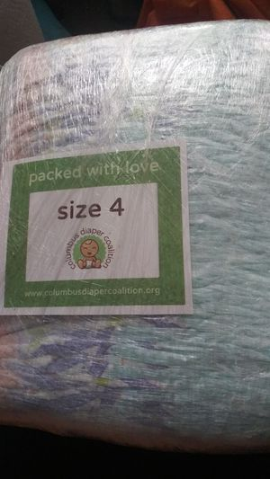 size 4 and size 5 diapers for Sale in Columbus, OH