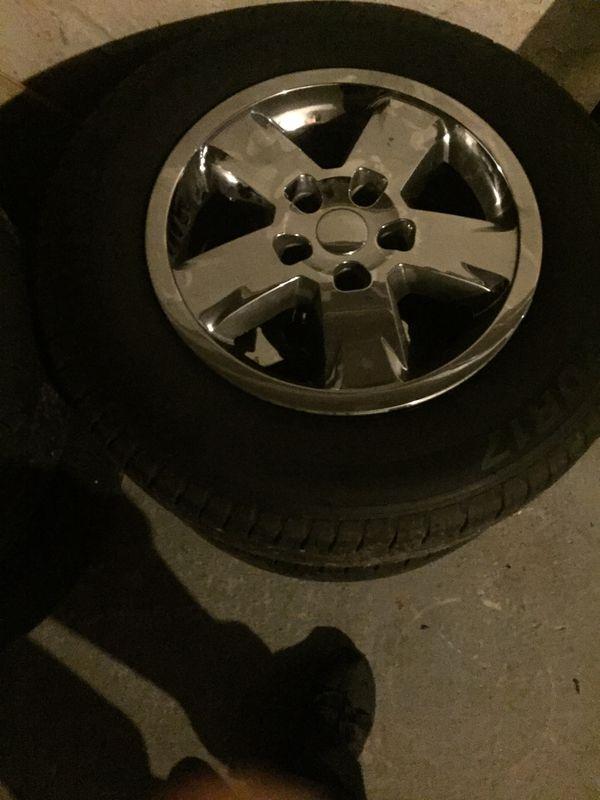 2011 Jeep Cherokee wheels