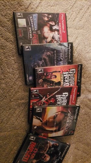 Various ps2 games for Sale in Baker, LA