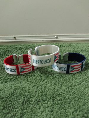PUERTO RICO WRIST BAND for Sale in Melbourne, FL