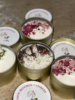 Soy candles handmade 15 Each for Sale in Fresno,  CA