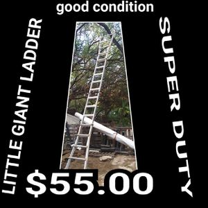 Little Giant 22 ft. H Aluminum Articulating Ladder Type for Sale in Waianae, HI