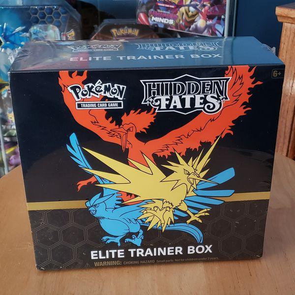 Hidden Fates Pokemon Elite Trainer Box