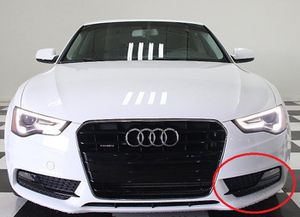 Audi A5 Quattro 12-16 Front Bumper (Left) Fog Light Lamp Grill for Sale in Charlotte, NC