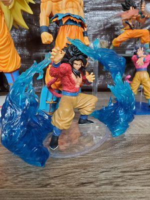 Japanese Anime dragon ball gt ss4 super seiyan 4 goku with special effects figure 4.25 inches for Sale in Rosemead, CA