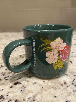 Starbucks floral mug for Sale in Gresham, OR