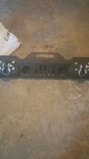 Jeep wrangler jl and jk front bumper for Sale in Victorville, CA