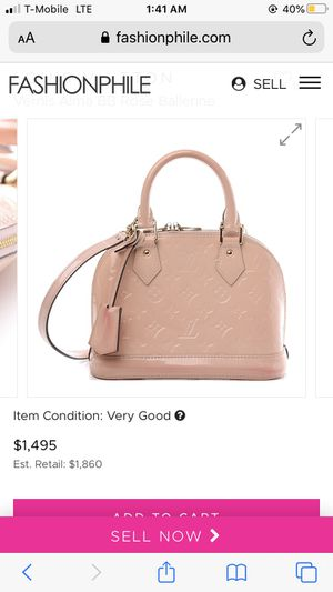 Louis Vuitton Pink Purse for Sale in Ontario, CA