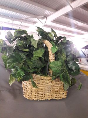 Fake plants w/baskets (2) for Sale in Washougal, WA