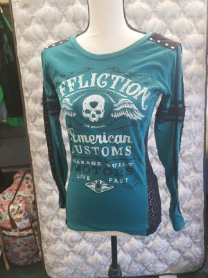 Affliction shirt for Sale in Puyallup, WA