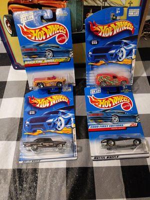 HotWheels X 4 for Sale in Elverta, CA