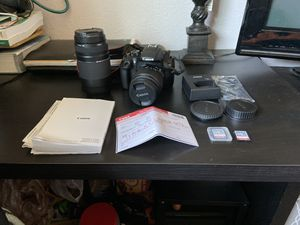 Canon EOS T6 Rebel for Sale in Vancouver, WA