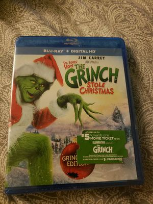 The Grinch on blue ray unopened brande new for Sale in Waianae, HI