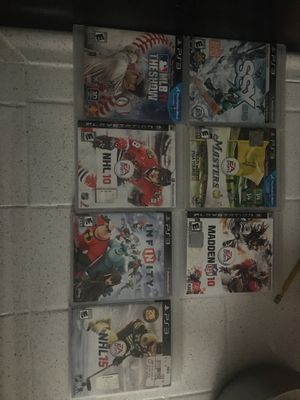 PS3 sports games for Sale in Anaheim, CA