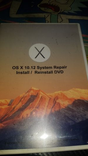Mac os install recovery cd for Sale in Arlington, TX