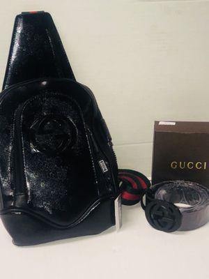Messenger bag and belt for Sale in Washington, DC