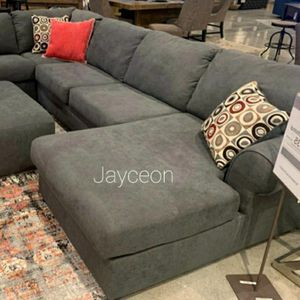 Jayceon Steel RAF Sectional for Sale in Silver Spring, MD
