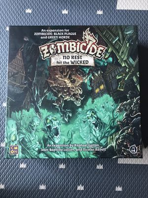 Zombicide No Rest for the Wicked for Sale in Lynnwood, WA