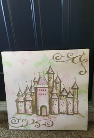 Princess decoration little girls room for Sale in Columbus, OH