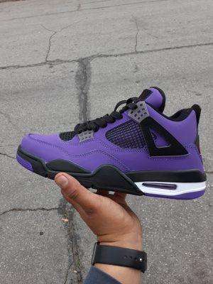 Travis scott Jordan 4 size 10 for Sale in San Bernardino, CA