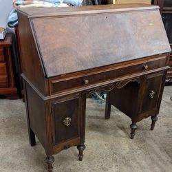 Gorgeous Antique Extra Wide Secretary Desk - Delivery Available for Sale in Tacoma,  WA