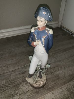 NAPOLEON BONAPARTE LLADRO # 5338 LMT EDITION FIGURINE SIGNED for Sale in Chandler, AZ