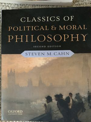 Classics of political and moral philosophy for Sale in San Luis Obispo, CA