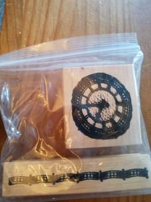 Vintage clock face stamp set for Sale in Chicago, IL